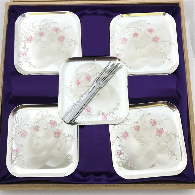 銀製小皿フォークセット ※銀製品ではありません。 【小物】 【中古】 all shop hd