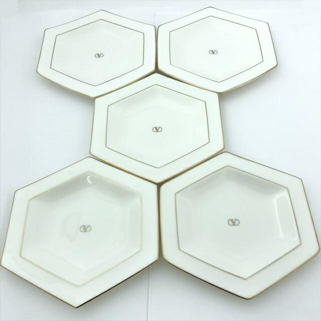 小皿×5枚セット / ウ゛ァレンティノ 陶磁器 【小物】 【中古】 all shop hd