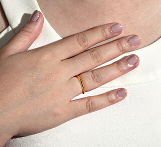 ●K22リング【22金指輪】●ピンクゴールドorイエローゴールド【2タイプ】●FLINKフリンク【正規代理店】【送料無料】●デートギフトプレゼント誕生日