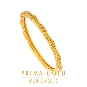 【あす楽】【当店人気商品】K24 純金 レディース ダイヤカットリング 指輪 14〜18号 女性 24金 イエローゴールド ジュエリー PRIMAGOLD プリマゴールド 送料無料
