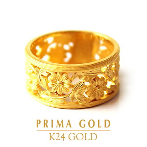 PRIMAGOLD プリマゴールド【送料無料】COSMOS(コスモス)【純金 リング】K24 ring【24金 指輪】【純金 ゴールド】