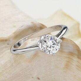 リング( 指輪 レディース プラチナ リング ジルコニア ジュエリー 一粒 ジルコニアリング デザインリング 婚約指輪 結婚式 50代 40代 女性 誕生日 プレゼント おしゃれ 母の日 ギフト 普段 使い プロポーズ プロポーズ用 プロポーズリング )