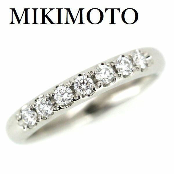 ミキモト ダイヤモンド 0.25ct リング Pt950 8号【中古】
