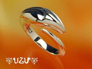 RI-524【UZU】シルバー925リング【ov4】