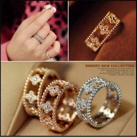 指輪 リング K18金RGP 彼女 女性 誕生日 プレゼント ギフト クリスマス 大人 可愛い おしゃれ アクセサリー 金属アレルギー 精巧なデザイン 正統派