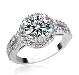 指輪 リング 美しく澄んだ煌きで指先を華やかに 1.1ctスワロフスキー彩石 _K18金RGP 彼女 女性 誕生日 プレゼント ギフト クリスマス 大人 可愛い おしゃれ 金属アレルギー