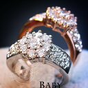 指輪 リング 雪華 豪華 スワロフスキー SWAROVSKI レディースアクセサリー あすつく K18 DM便送料無料 彼女 女性 誕生…