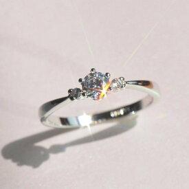 リング 指輪 ピンキー スワロフスキー あすつく レディースアクセサリー 記念日 4号〜19号 金属アレルギー
