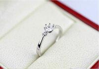 指輪リング結婚指輪ピンキーリング大きいサイズスワロフスキーSWAROVSKIあす楽DM便発送送料無料K18レディースアクセサリー