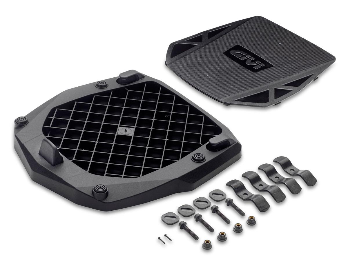 即納 GIVI ジビ E251 汎用ベースプレート モノキーケース用 フィッティングキット付属