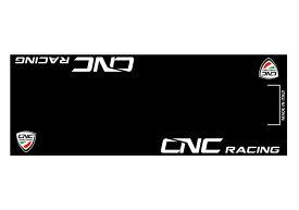 CNC Racing イタリア バイクマット ガレージに お部屋のインテリアマットとしても 220cm×80cm
