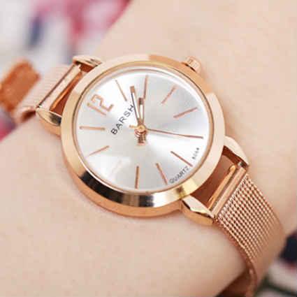 腕時計 レディース レディース腕時計 ブレスレットウォッチ キラキラ 安い かわいい プレゼント Jewel ジュエル メタルメッシュベルト