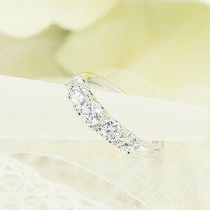 pt950【1.0ct】グラデーションダイヤモンドリング