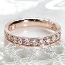 ファッション・ジュエリー・アクセサリー・レディース・【Hカラー・SIクラス】ピンクゴールド・ダイヤモンド・ダイヤ…