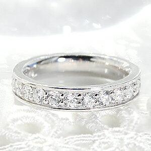 世界にひとつだけのリングをセミオーダーいたします。pt950【1.5ct】ダイヤモンドフルエタニティリング 【Fカラークラス・SIクラス・VGカットクラス】 ジュエリー 指輪 リング プラチナ ダイヤ フルエタ 1.5カラット エタニティ 大粒 プレゼント 刻印無料 結婚 婚約