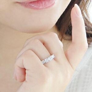 世界にひとつだけのリングをセミオーダーいたします。pt950【1.0ct】グラデーションダイヤモンドエタニティリングジュエリーレディース指輪リングプラチナダイヤモンドリング1カラットエタニティプレゼント結婚刻印無料クリスマス誕生日【楽ギフ_包装】