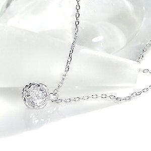 K18WG/PG 【0.26ct】一粒ダイヤモンド ネックレスペンダント ホワイトゴールド ピンクゴールド ダイアモンド ダイヤ K18 18金 4月誕生石・代引手数料無料・送料無料・品質保証書・プレゼント・