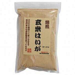 【送料一律540円】玄米はいが焙煎粉末 300g 富士食品