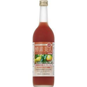 【送料一律540円】シーボン 酵素美人 赤 ピンクグレープフルーツ味 720ml