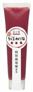 【送料一律540円】特別栽培紅玉ねり梅(チューブ) 100g(海の精)