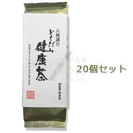 【送料無料】 【20個セット】 OSK 六種調合 どくだみ健康茶 400g 【ケース販売】 【小谷穀粉】