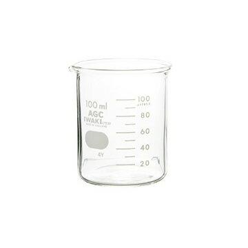 iwaki ビーカー100ml【手作り石鹸 コスメ 耐熱 ガラス 計量 手作り コスメ アロマ 器具 ツール 道具】