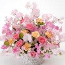 【春のお花・アレンジ・スイートピー】お祝い・お誕生日・結婚祝・出産祝・開店祝・結婚記念日・お礼・発表会・季節のお花・お返しプレ…