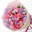 【春のお花・花束・スイートピー】お祝い・お誕生日・結婚祝・出産祝・開店祝・結婚記念日・お礼・発表会・季節のお花・お返しプレゼン…