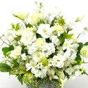 【アレンジ・ホワイトカラー】お祝い・お誕生日・結婚お祝・出産お祝・開店お祝・結婚記念日・お礼・発表会・季節のお花・お返しプレゼ…