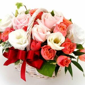 【パステルカラー・アレンジ・ローズ】お祝い・お誕生日・結婚お祝・出産お祝・開店お祝・結婚記念日・お礼・発表会・季節のお花・お返しプレゼント・成人式・バレンタイン・ホワイトデー・退職祝い・入学祝いなど。