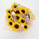【夏・ヒマワリ・サンフラワー・花束】お祝い・お誕生日・結婚祝・出産お祝・開店祝・結婚記念日・父の日・お中元・お礼・発表会・季節…
