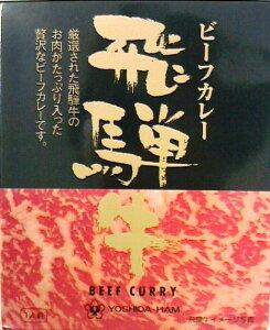 飛騨牛カレー220g (箱入)【レトルトカレー】【全国こだわりご当地カレー】甘味、コク、旨味、香りのすべてを兼ねそなえた飛騨牛をたっぷりと使用したカレーです。