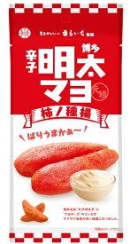 (10袋セット)博多 辛子明太子マヨ 柿の種揚 40g ×10袋セット