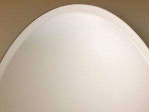 柄なし楕円W400×H700(面取り幅:15ミリ)【壁掛け用】上拡大