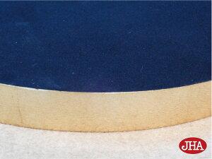 壁掛け鏡・ウォールミラー・サークル【イタリア製】【JHAアンティーク風ミラー】エレガンス・フルーツ柄(ホワイト&ゴールド)丸型W465×H465