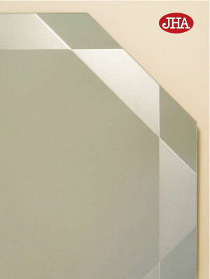 シンプル3-八角形W450×H450【飛散防止・壁掛け用】上拡大