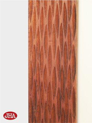 《新作》壁掛け鏡・ウォールミラー【JHAアンティークミラー】《デラックス》ウッディ・モダン・木彫りミラー(メッシュB)W400×H600(ブラウン)木枠ミラー