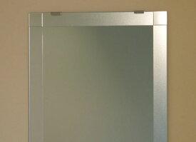 鏡 ミラー 洗面鏡 化粧鏡【JHAデザインミラー】 シンプル4 W500×H700【ビス用】 EM-50X70Tb-S4 フレームレスミラー ノンフレーム 玄関 洗面 トイレ 寝室 おしゃれ 店舗 ドレッサー モダン シンプル エッチング スタイリッシュ 四角
