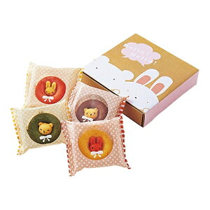 【送料込み】【ポイント5倍】【送料無料】カリーノアニマルドーナツ(4個)【どうぶつドーナツ 動物 どうぶつ ドーナッツ】