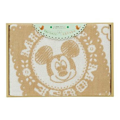 【送料込み】【ポイント5倍】【送料無料】Disney(ディズニー)ナチュラルミッキーバスタオル【出産内祝いギフトに最適です。】【内祝い お返し】【出産祝い 返礼 お返し お祝いのお返し 人気 おしゃれ】