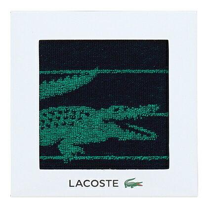 【送料込み】【ポイント5倍】【送料無料】LACOSTE(ラコステ)Lエスポワールウォッシュタオル(ダークブルー)【出産内祝いギフトに最適です。】【出産祝い 返礼 お返し お祝いのお返し 人気 おしゃれ】