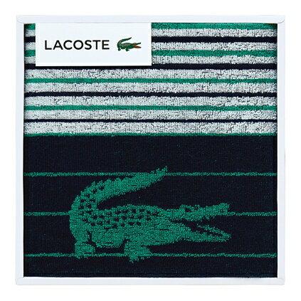 【送料込み】【ポイント5倍】【送料無料】LACOSTE(ラコステ)Lエスポワールスポーツタオル(ダークブルー)【出産内祝いギフトに最適です。】【出産祝い 返礼 お返し お祝いのお返し 人気 おしゃれ】