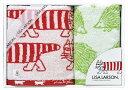 【送料込み】【ポイント5倍】【送料無料】LISA LARSON(リサ・ラーソン)シンプルシリーズタオルセット【出産内祝いギ…