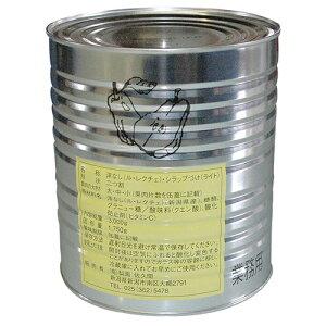 梨園佐久間 西洋梨 『ル レクチエの缶詰』 3.0kg【通常宅急便】