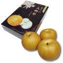8月中旬〜12月下旬販売・発送和泉果樹園の『大郷梨ギフトボックス』5kg(7〜10玉)【通常宅急便】