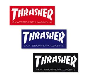 スラッシャー ステッカー ブランド かっこいい おしゃれ アウトドア アメリカン スケボー スケートボード ストリート 車 バイク スーツケース カーステッカー アメリカン雑貨 THRASHER LOGO 【
