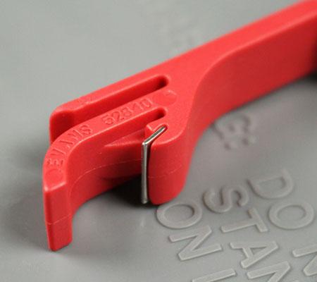 ドクターペッパーキーホルダー(栓抜き)の栓抜き部分