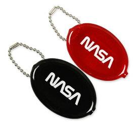 NASA コインケース 小銭入れ ラバーコインケース アメリカ アメリカン雑貨 アメリカ航空宇宙局 【メール便OK】_KH-NOA001-DGT