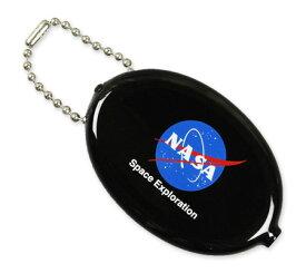 NASA コインケース 小銭入れ ラバーコインケース アメリカ アメリカン雑貨 アメリカ航空宇宙局 INSIGNIA 【メール便OK】_KH-NOA001IA-DGT