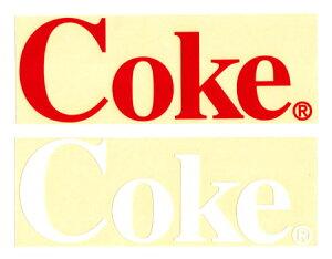 コカコーラ ステッカー グッズ アメリカン 車 おしゃれ 転写 カッティングステッカー バイク ヘルメット かっこいい カーステッカー アメリカ アメリカン雑貨 Coke 【メール便OK】_SC-CCCDS2-LFS